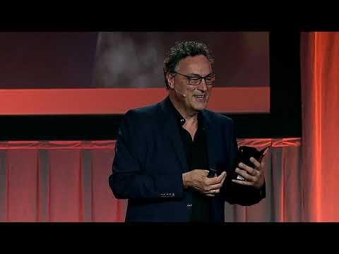 Futurist Keynote Speaker Gerd Leonhard at MHI 2018 Executive Summit: Technology and Humanity
