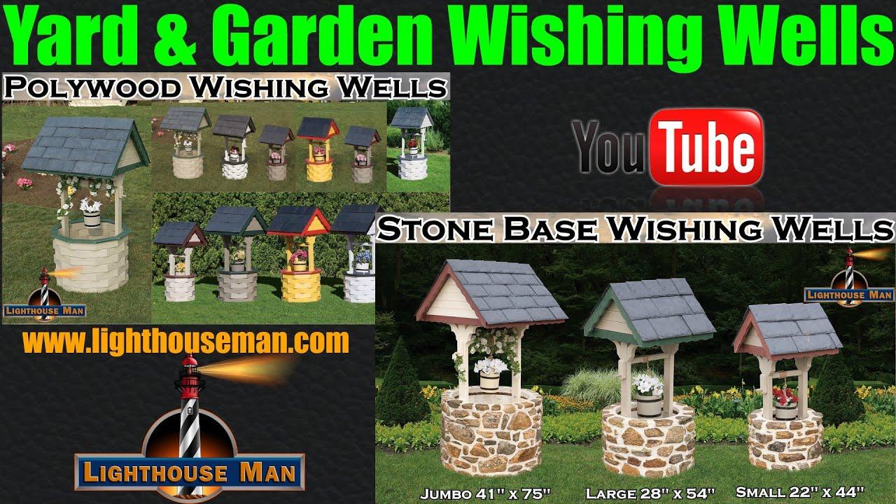 Wishing well lawn ornament - Decorative Ornamental Wishing Wells For Yard Or Garden