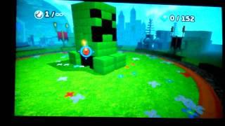 Boom Blox: Bash Party - Minecraft Creeper