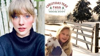 Taylor Swift RELEASES New Single 'Christmas Tree Farm' & Music Video!