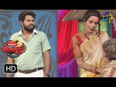 Hyper Aadi, Raising Raju Performance | Jabardasth | 31st  May 2018 | ETV  Telugu