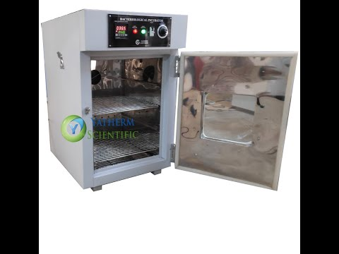 Bacteriological Incubator - Lab Incubator Operating @ 37°C