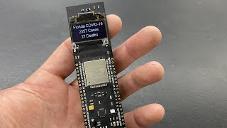 ESP32 COVID-19 Realtime Tracker - JSON REST API Tutorial