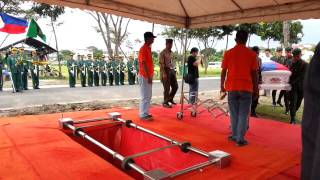 Footage from Lolo's Interment