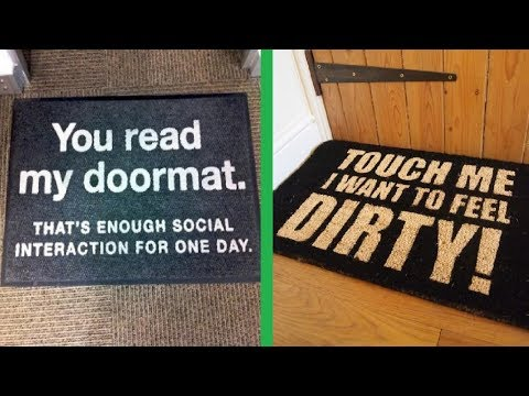 Creative And Funny Doormats That Will Make You Smile
