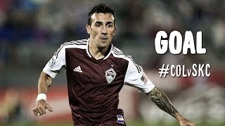 GOAL: Vicente Sanchez converts 4th penalty of the season | Colorado Rapids vs. Sporting KC
