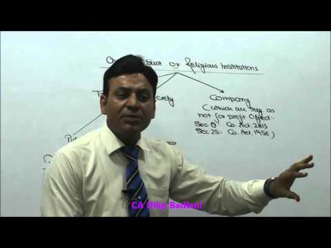 Income Tax : AY 16-17 : Charitable Trust : Lecture 1