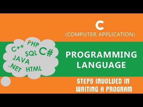 Steps Involved In Writing A Program | Writing Algorithm Steps