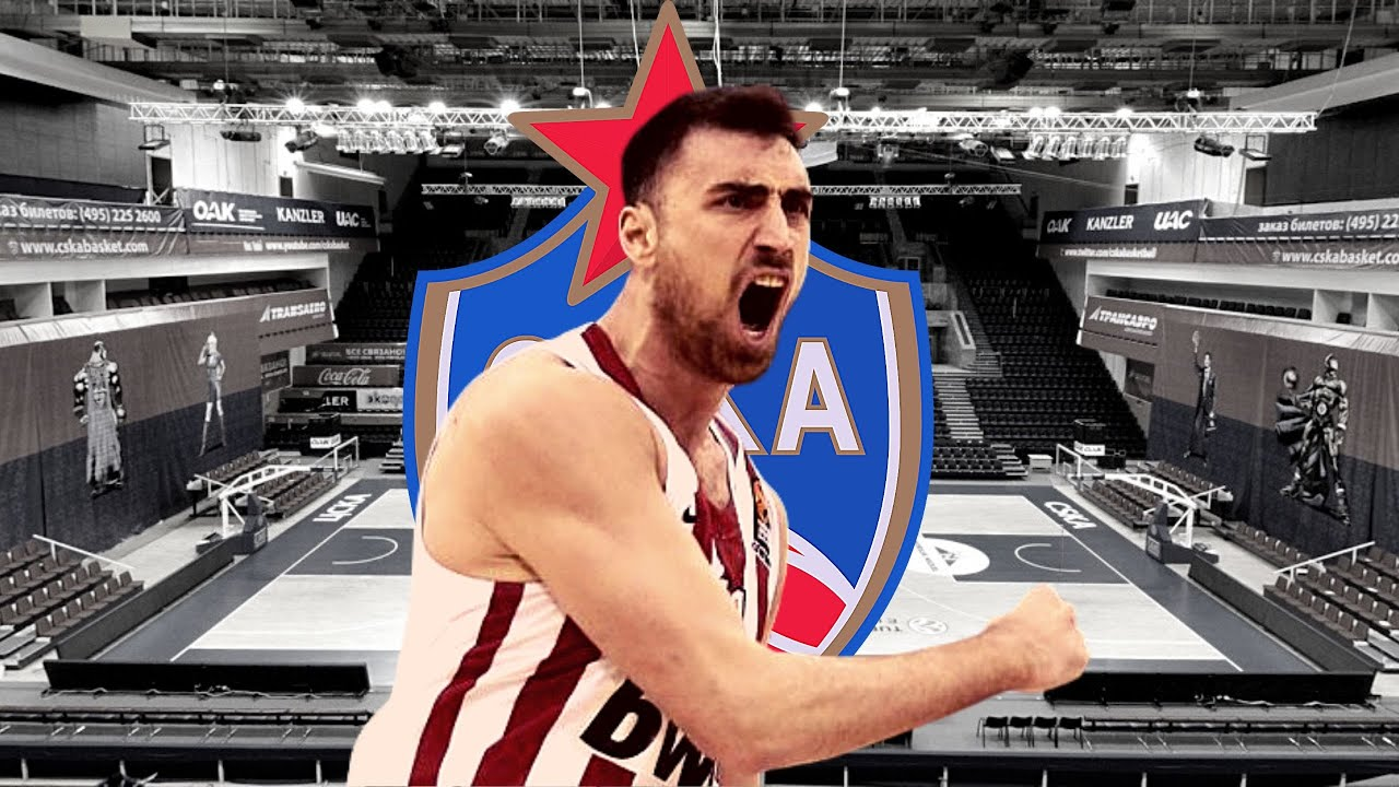 Nikola Milutinov - Welcome To CSKA Moscow B.C. ᴴᴰ   Debut.gr