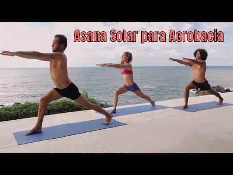 AcroYoga Solar Asana   en Espanol