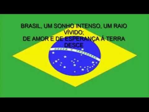 BRAZILIAN NATIONAL ANTHEM PORTUGUESE LYRICS