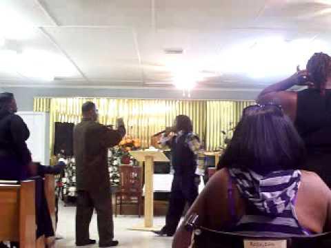 APOSTLE E D LLOYD AT 2ND CHANCE COGIC AUG 20 2014 FT PIERCE FLA