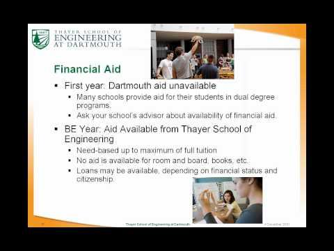 Dartmouth Dual Degree Program Webinar