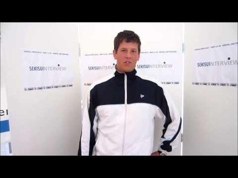 SEKISUI OPEN 2013 Interview Roman Svec