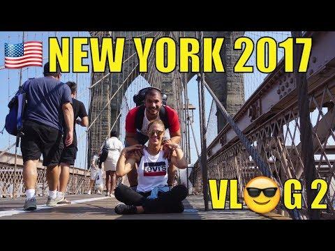 NUEVA YORK VLOG 2 (NYC): FERRY - BROOKLYN BRIDGE PARK- DUMBO - BROOKLYN BRIDGE