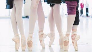 Les Ballerines Et Leurs Pointes