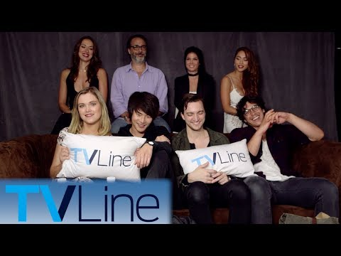 The 100 Interview | Comic-Con 2017 | TVLine
