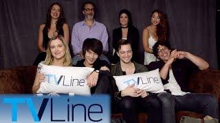 The 100 Interview | Comic-Con 2017 | TVLine