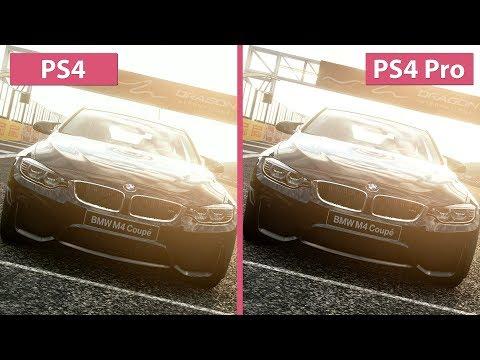 Gran Turismo Sport – PS4 vs. PS4 Pro 4K Mode Frame Rate Test & Graphics Comparison (Demo)