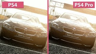Gran Turismo Sport – PS4 vs. PS4 Pro 4K Mode Frame Rate Test & Graphics Comparison (Demo)