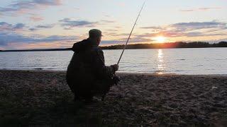 Ночная рыбалка С внуком на донки На Волге Поклёвка сома Моя ошибка