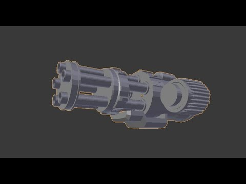 How to Create a Medium-Poly Chain Gun in Blender