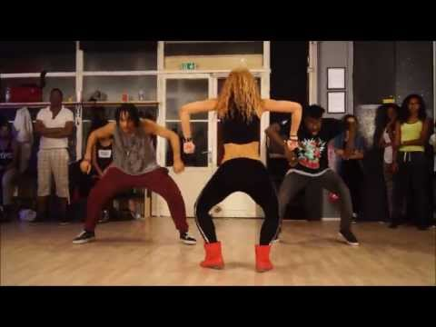 Wizard ft. Chedda & Nyanda- Like a Pro - New dancehall Choreo by Aya