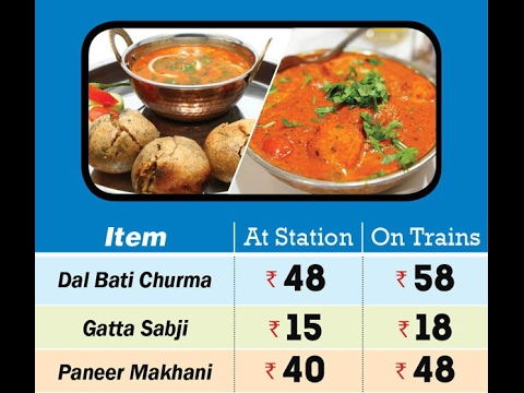 Price list of irctc menu food all you need to know also rh youtube