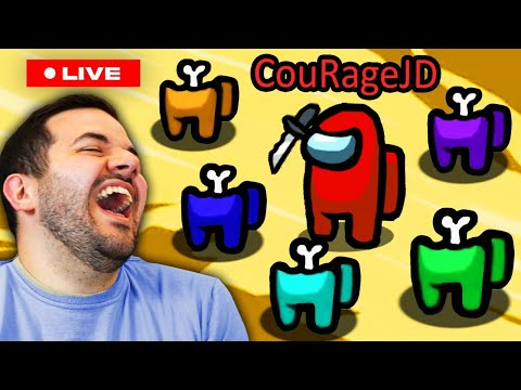 🔴The #1 Impostor IN THE WORLD! Among Us *LIVE* -  *PERFECT RECORD ATTEMPT*