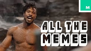 Black Panther's Killmonger Wants To Know 'Is This Your King?' - All The Memes