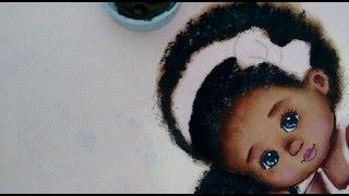 Como pintar cabelo negro