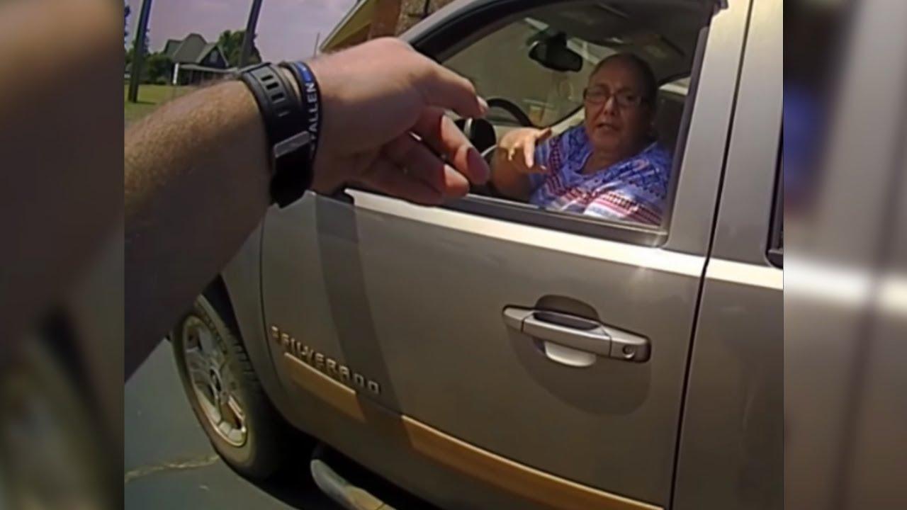 Штраф, погоня и электрошокер: задержание пенсионерки в США попало на видео