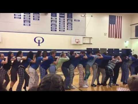Orcas Island High School Junior Lip-synch//2018