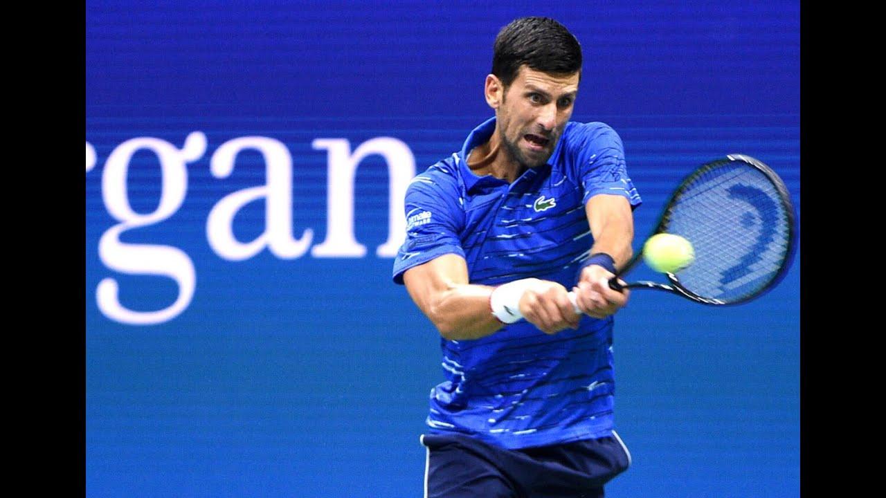 Novak Djokovic Vs Juan Ignacio Londero Us Open 2019 R2 Highlights Youtube