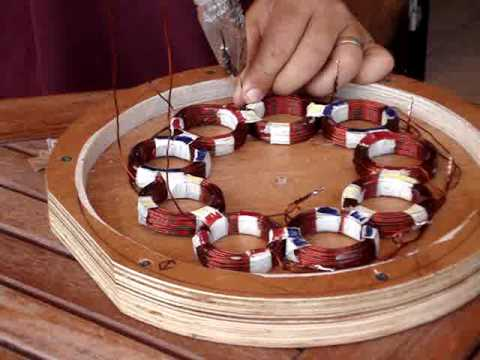 How to build a homemade stator for a P.M.A generator (wind turbine ...