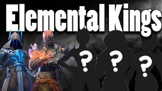 *RARE* Elemental Kings ARE AT POLAR PEAK! (REAL FOOTAGE) - Fortnite Tips