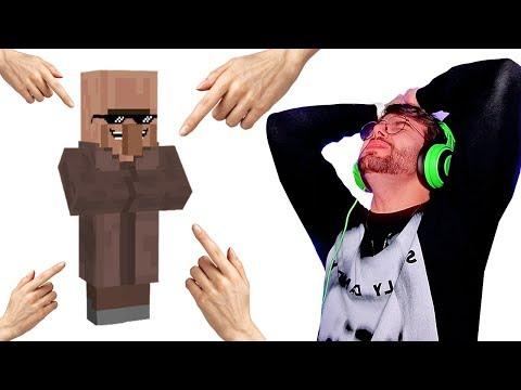 Só passei RAIVA com esse Aldeão no Minecraft!!!!!!! **episódio complexo**