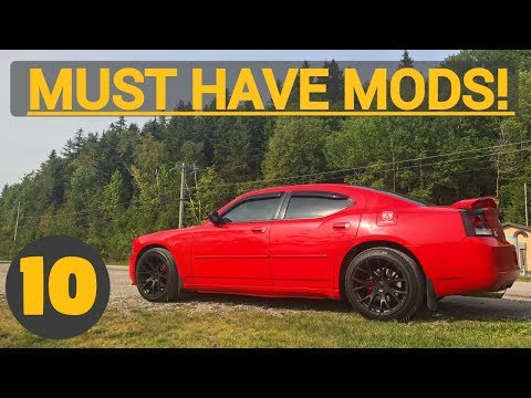 Top 10 First Mods to do to Your Charger  - MUST HAVE MODS!