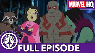 the guardians catch a princess marvels guardians of the galaxy s2 ep6 girls just wanna have fun