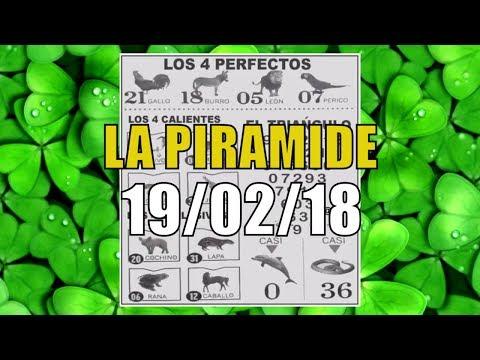 LA PIRÁMIDE DESCIFRADO 100% VIP   LOTTO ACTIVO 19/02/2018