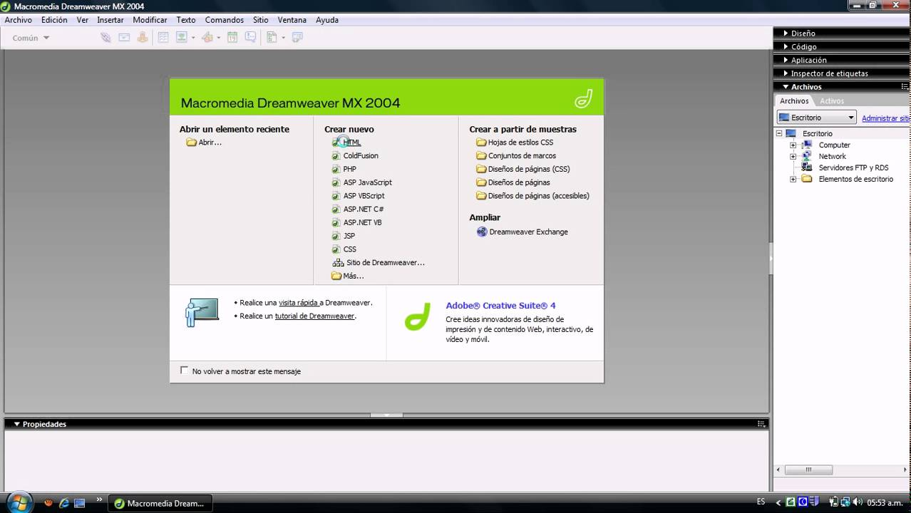 tutorial de macromedia dreamweaver mx 2004 youtube rh youtube com manual macromedia dreamweaver Macromedia Shockwave