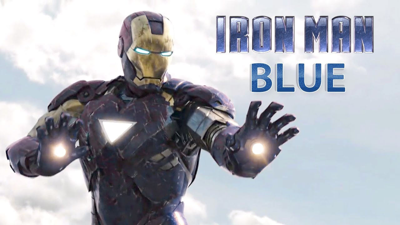 Blue Iron Man Suit Compilation | Blue suit Iron Man ...