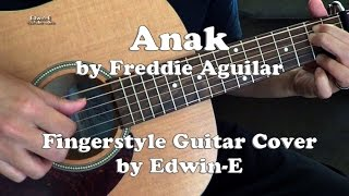 Anak by Freddie Aguilar - Fingerstyle Guitar Cover