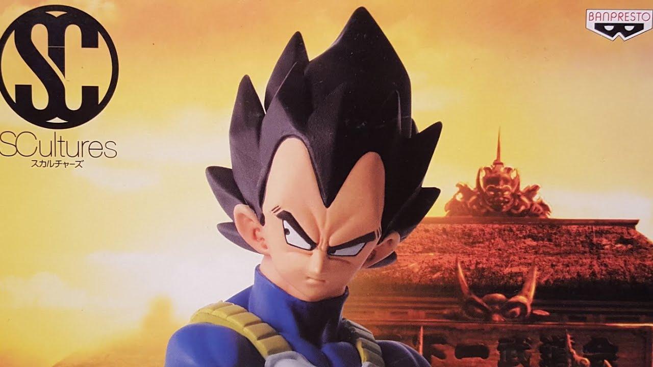 Download Dragon Ball Z Vegeta Colosseum SCultures Zoukei Tenkaichi Budoukai Figure Review (Banpresto)