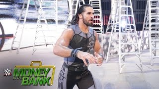 Seth Rollins 39 Entrance WWE Money in the Bank 2016 auf WWE Network