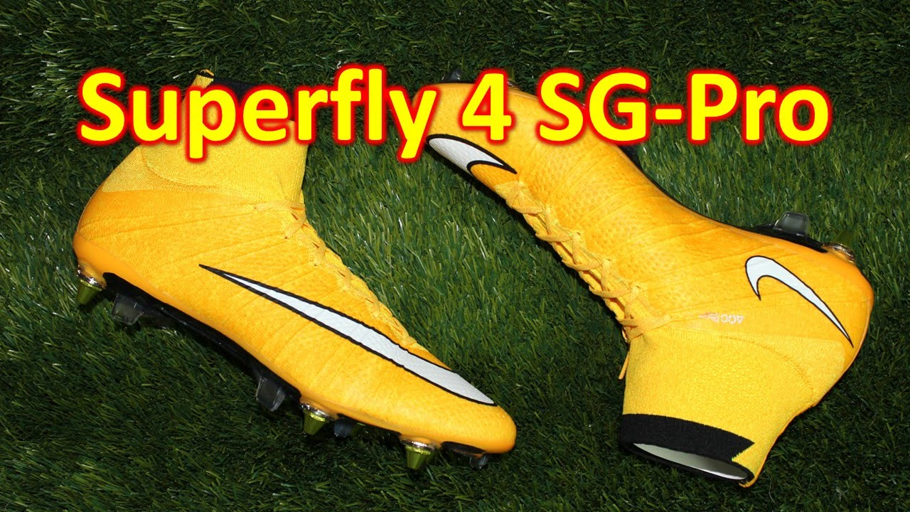 the best attitude d06ab 7fa95 Nike Mercurial Superfly 4 SG-Pro Laser Orange - Review + On Feet