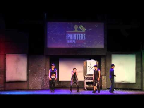 "Korean Performance "" The Painters Hero "" Highlight"