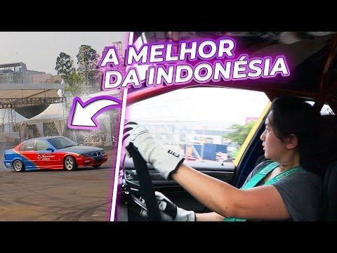 ME DESAFIARAM PRA ANDAR NO CARONA COM ELA PILOTANDO! *melhor Da Indonésia*