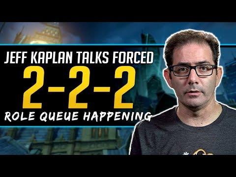Overwatch Role Queue Will Happen - Jeff Kaplan Talks Forced 222 Comps