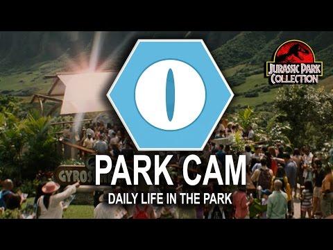 Jurassic World Park Cameras